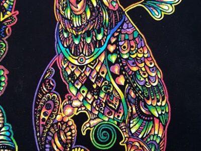 quadro-pappagallo